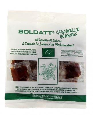Soldatt Caramelle Bonbons all'Estratto di Lichene