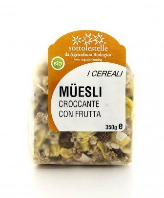 I Cereali - Muesli Croccante con Frutta Bio