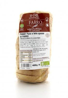 Pandì - Pane a Fette Spesse di Farro