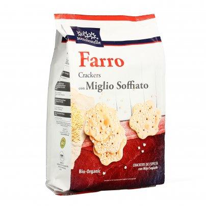 Senza Lieviti - Crackers di Farro e Miglio Soffiato