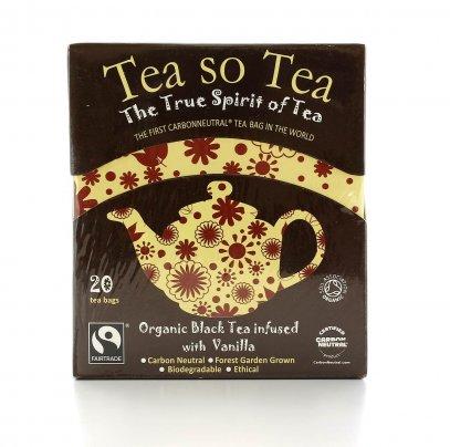 Tea So Tea - Té Nero con Vaniglia Bio