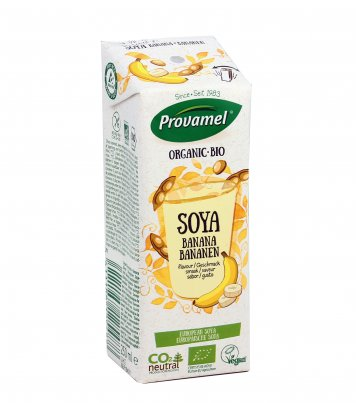 Bevanda Vegetale di Soia e Banana