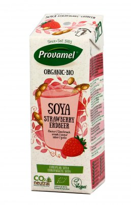 Soya Strawberry Drink