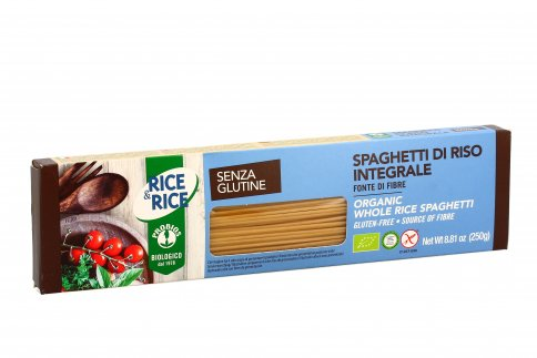 Spaghetti Pasta di Riso Integrale Senza Glutine - Rice & Rice