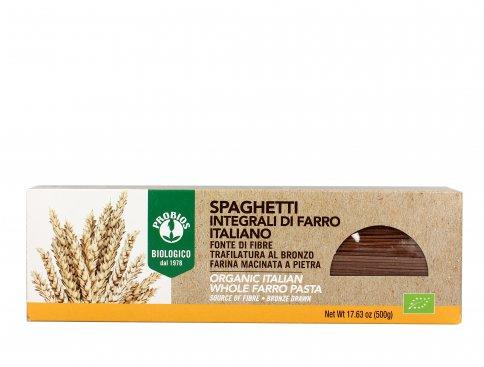 Pasta Spaghetti Integrali di Farro Italiano