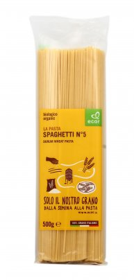 Pasta Bio di Grano Duro - Spaghetti N. 5