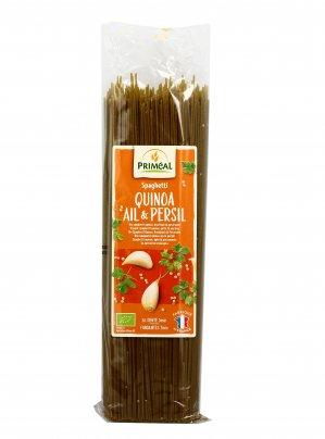 Spaghetti alla Quinoa con Aglio & Prezzemolo