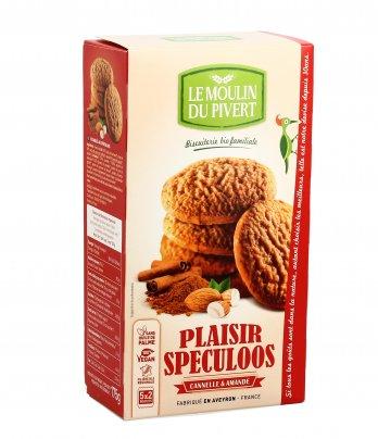 Biscotti Plaisir Speculoos con Cannella e Mandorla
