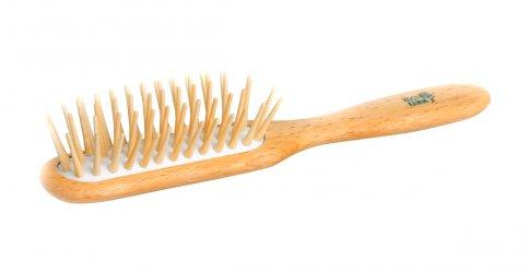 Spazzola in Legno con Dentini Lunghi