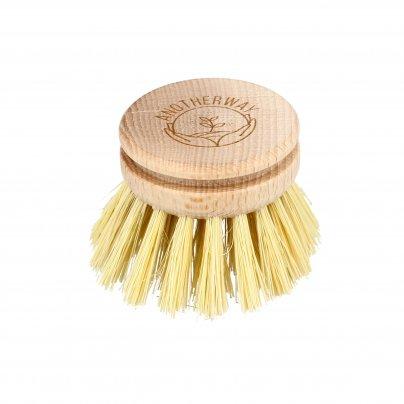 Spazzola Lavapiatti Ecologica con Manico (Testina per Ricambio)