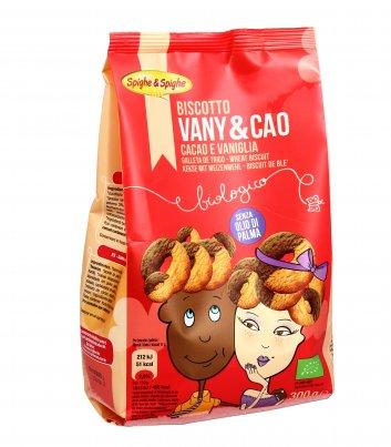 Biscotto Vany & Cao - Cacao e Vaniglia