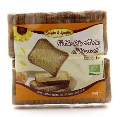 Fette Biscottate Biologiche KAMUT® - grano khorasan