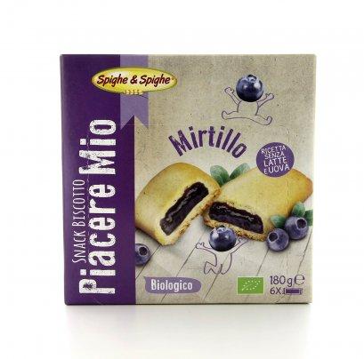 Piacere Mio - Snack Biscotto al Mirtillo