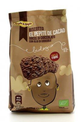 Biscotto Bio El Pepite de Cacao