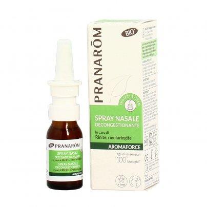Spray Nasale Decongestionante - Aromaforce