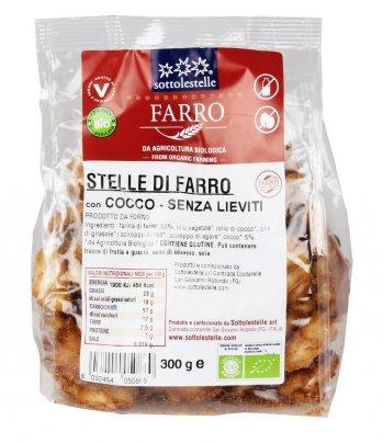 Stelle Di Farro Con Cocco - Senza Lieviti