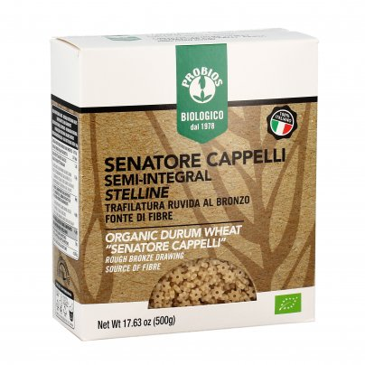 Stelline Pasta Senatore Cappelli Semi-Integrale