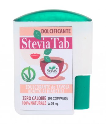 Dolcificante naturale a base di Stevia - Stevia Tab 200 Compresse