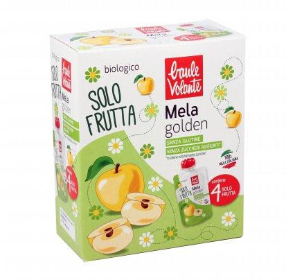 Purea di Mela Golden Bio - Solo Frutta 4 pezzi doypack (4x100 gr.)
