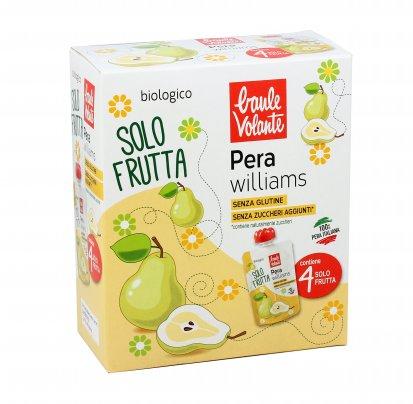 Purea con Pera Williams Bio - Solo Frutta