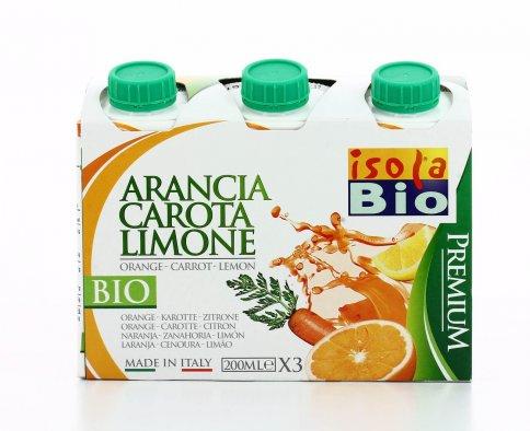 Succo Arancia Carota e Limone
