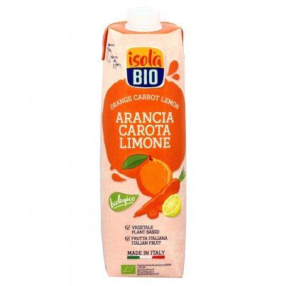 Succo di Arancia, Carota e Limone Bio 1000 ml
