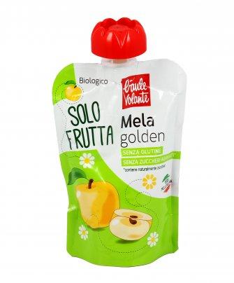 Purea di Mela Golden Bio - Solo Frutta 100 gr. Monouso