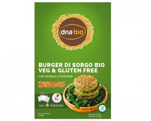Burger alle Verdure con Quinoa e Peperoni Senza Glutine