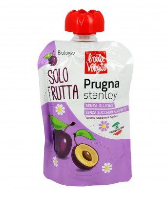 Purea di Prugna Stanley Bio - Solo Frutta 100 gr. Monouso