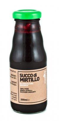 Succo di Mirtillo Bio 100% Puro