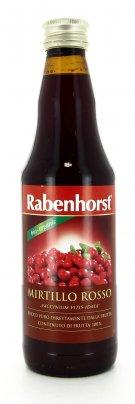 Succo di Mirtillo Rosso Puro 100%