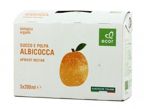 Succo e Polpa di Albicocca Bio