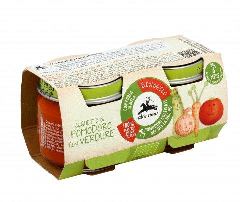 Sughetto di Pomodoro con Verdure Bio