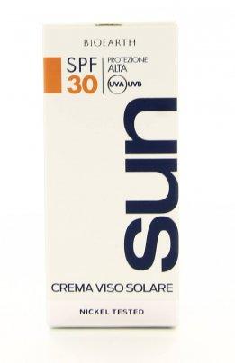 Bioearth Sun - Crema Viso Solare 30 Spf