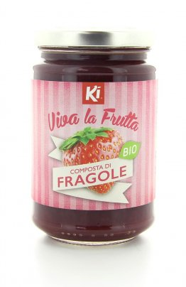 Composta di Fragole Biologica