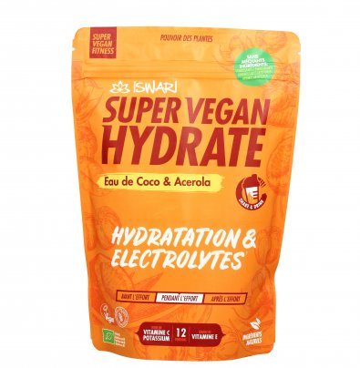 Super Vegan Hydrate Bio - Acqua di Cocco e Acerola