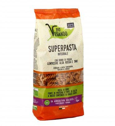 Super Pasta Integrale Lenticchie, Alga Rossa e Timo