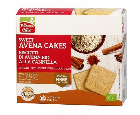 Biscotti di Avena Bio alla Cannella - Sweet Avena Cakes