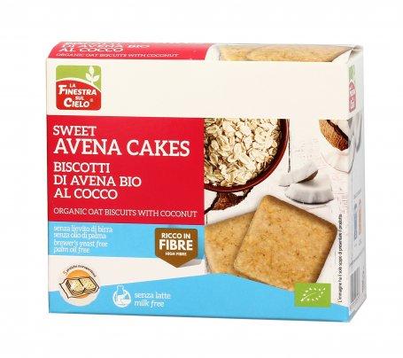 """Biscotti di Avena al Cocco """"Sweet Avena Cakes"""""""