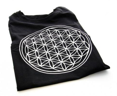 T-Shirt - Il Fiore della Vita - Uomo Taglia L