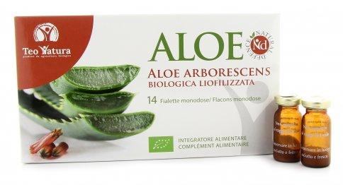Aloe Nd Arborescens - 14 Fialette Monodose