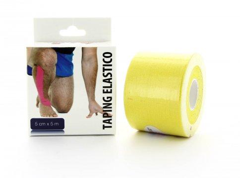 Tape Elastico Colore Giallo