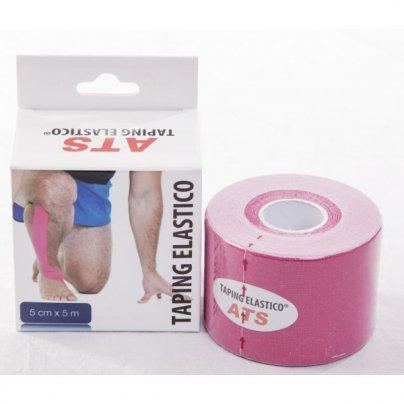 Tape Elastico Colore Rosa