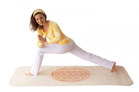 """Tappetino Yoga """"Fiore Della Vita"""""""