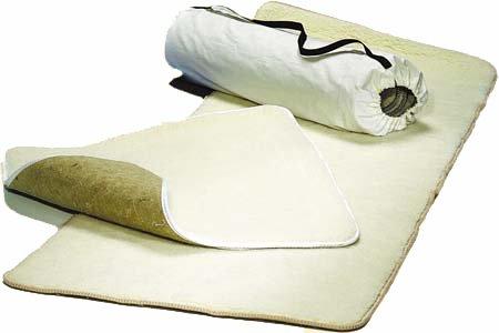 Tappeto Yoga Ananda in Lana Merino e Fibre di Juta Grande - cm 195x150