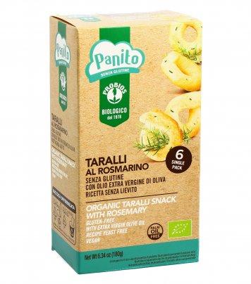 "Taralli al Rosmarino Bio Senza Glutine ""Panito"""