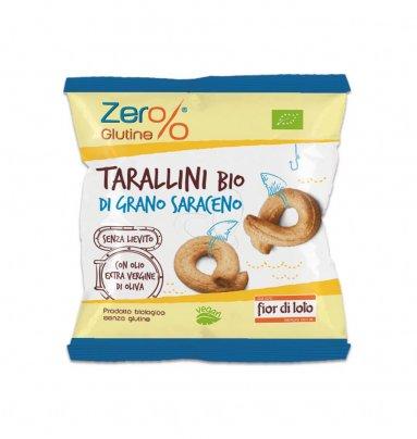 Tarallini Bio di Grano Saraceno - Zero Glutine