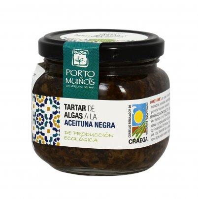 Tartare di Alghe e Olive Nere