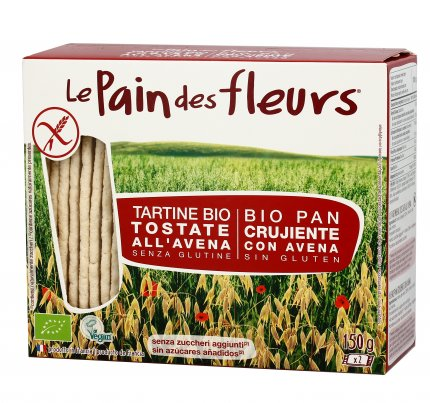 Tartine Bio Tostate all'Avena