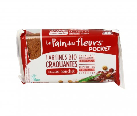 Tartine Tostate con Cacao e Chufa - Senza Glutine